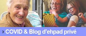 La création d'un blog ehpad avec partage photos et vidéos sécurisé pendant la covid permet de garder le lien, et la distance avec les familles
