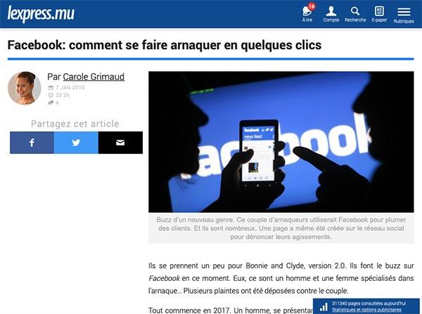 Alerte vie privée et piratage sur Facebook