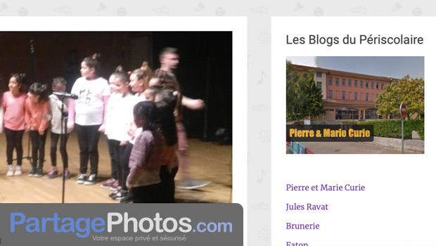 Un grand nombre de blogs périscolaires diffusent également des photos et des vidéos des activités qui sont proposées aux enfants.