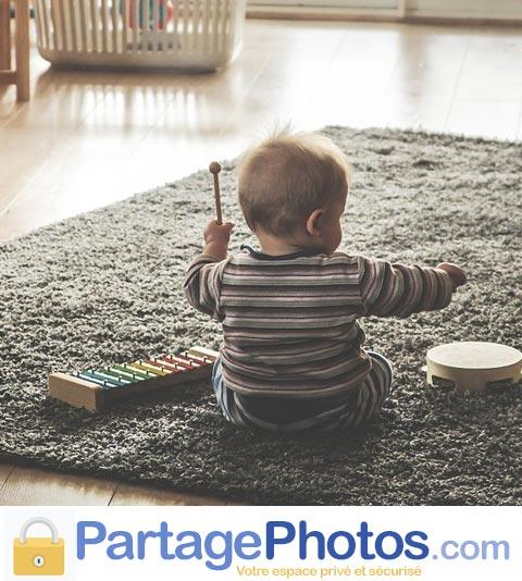 Blog de crèche avec partage photos sécurisé pour les parents