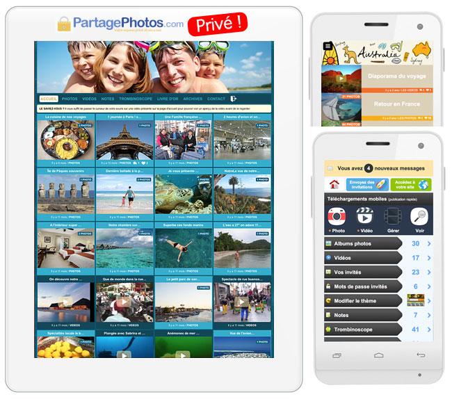 Partage photos et vidéos privé : idéal pendant son expatriation