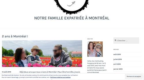 De nombreux blogs de famille expat sont publics