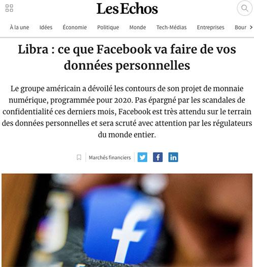 Protéger sa vie privée est important. Avec Libra, sa monnaie virtuelle, le réseau social va être encore plus piraté qu'il ne l'est aujourd'hui.