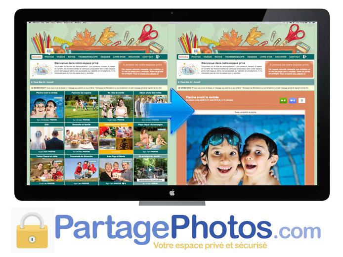 Partage photo sécurisé : créez votre blog photos et vidéos privé facilement