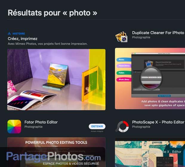 Des dizaines d'application de filtres et traitement d'image sont disponibles sur les stores, mais aucune ne permet de partage et stocker, en toute sécurité, ses photos et ses vidéos.