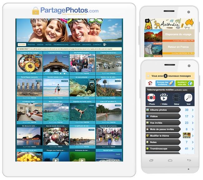 Comment partager beaucoup de photos avec ses amis ou sa famille ?