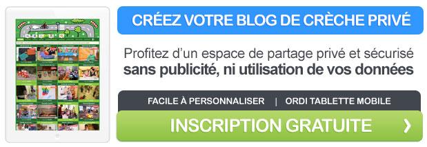 Créez votre blog de crèche privé