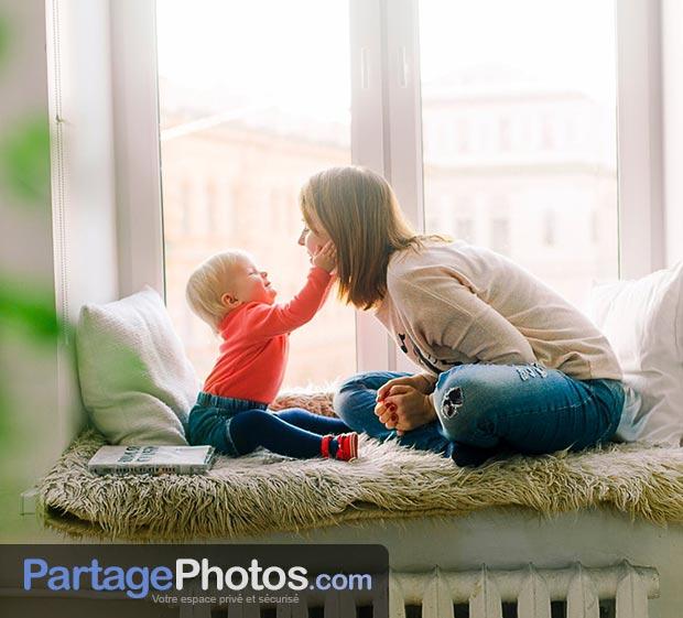 Création d'un espace photos et vidéos privé pour partager en comité restreint avec la famille et les amis