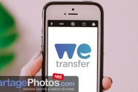 Plateforme de partage à l'essai : WeTransfer