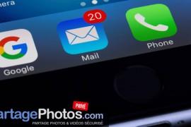 Comment envoyer beaucoup de photos par email ?