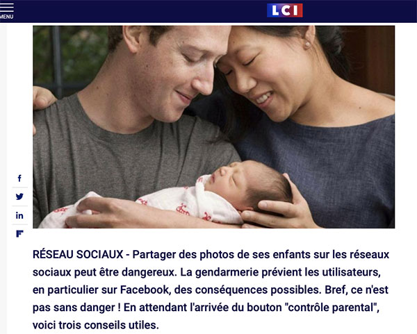 Accueil ALSH : attention si vous partagez des photos des enfants sur facebook
