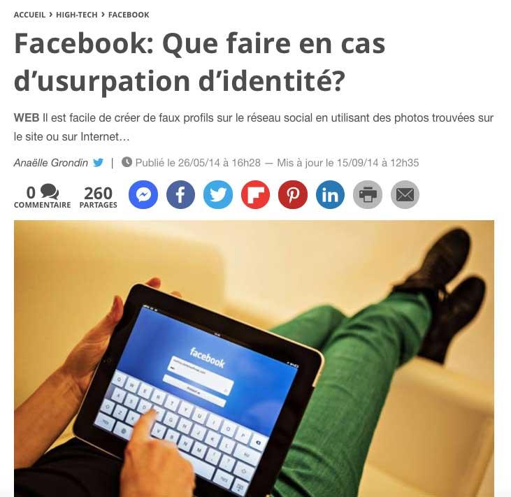 Facebook n'est vraiment pas adapté aux grands-parents et à une utilisation simple pour la famille.