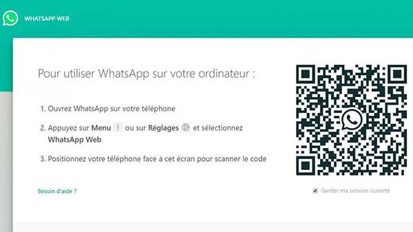 WhatsApp Web fonctionne très bien après avoir photographié un flash code sur votre écran d'ordinateur ou votre tablette tactile.