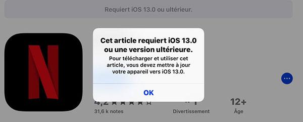 Pas pratique et vraiment frustrant quand on obtient un message nous informant que notre smartphone ne permet pas d'installer une application.